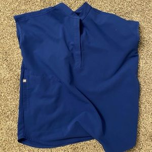 FIGS Winning blue rafaela scrub top size XS
